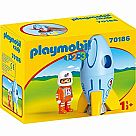 Playmobil 123 70186 Astronaut with Rocket
