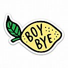 Boy Bye Vinyl Sticker