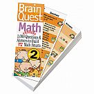 Brain Quest Deck Math Grade 2