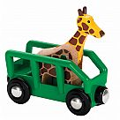 BRIO Safari Wagon and Giraffe