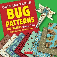 "Origami Paper, Bugs (100 6"" Sheets)"
