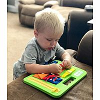 Buckle Toys Busy Board