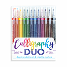 Calligraphy Duo Marker Set