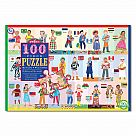 100 Piece Puzzle, Children of the World