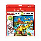 Color By Number T-Rex Foil Fun