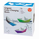 Color-Changing Origami Bath Boats