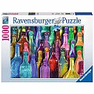 1000 Piece Puzzle, Colorful Bottles