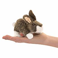 Cottontail Rabbit Finger Puppet