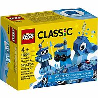 11006 Creative Blue Bricks - LEGO Classic