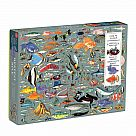 1000 Piece Puzzle, Deepest Dive with Shaped Pieces