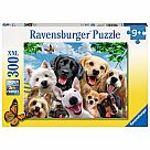 300 Piece Puzzle, Delighted Dogs