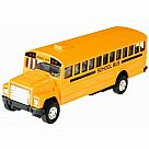 Die Cast Pull-Back School Bus