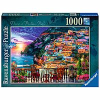1000 Piece Puzzle, Dinner in Positano