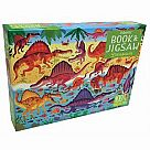 100 Piece Puzzle, Dinosaurs - with Book