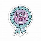 Dog Mom Badge Vinyl Sticker