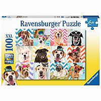 100 Piece Puzzle, Doggy Disguise