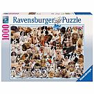 1000 Piece Puzzle, Dogs Galore