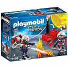 Playmobil 9468 Firefighters with Pump