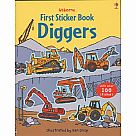 First Sticker Book Diggers