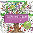 Follow Your Dreams Adult Coloring Book