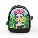 Frida with Black Cats Mini Backpack