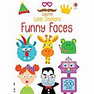 Funny Faces Little Sticker Book