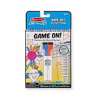 Game On! Wipe-Off Activity Pad