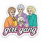 Golden Girl Gang Vinyl Sticker