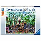 500 Piece Puzzle, Greenhouse Mornings