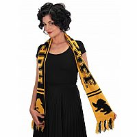 Hufflepuff Reversible Knit Scarf