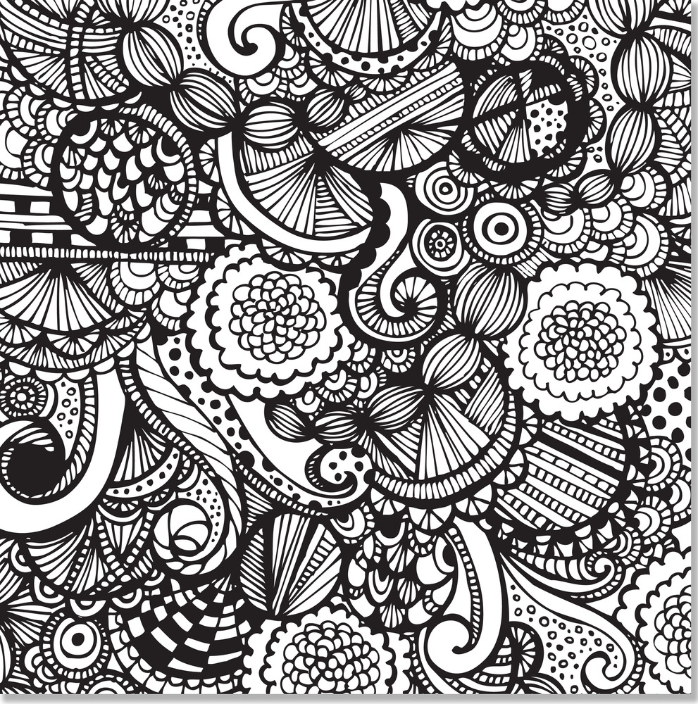 Joyful Designs Artist\'s Coloring Book - Peter Pauper Press