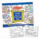 Jumbo Coloring Pad, Blue