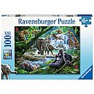 100 Piece Puzzle, Jungle Animals
