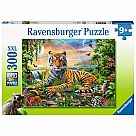 300 Piece Puzzle, Jungle Tiger
