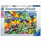 1000 Piece Puzzle, Land of the Lorikeet