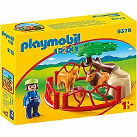 Playmobil 9378 1.2.3 Lion Enclosure