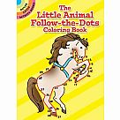 Little Animal Follow-the-Dots Coloring Book
