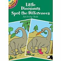 Little Dinosaurs Spot-the-Difference Activity Book