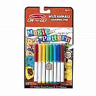 Magic Patterns Wild Animals Coloring Pad