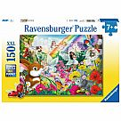 150 Piece Puzzle, Magical Forest Fairies