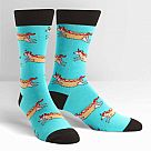 Men's Crew Socks, Corn Dog