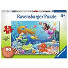 60 Piece Puzzle, Mermaid Tales