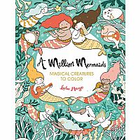 A Million Mermaids Coloring Book