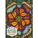 750 Piece Puzzle, Illustrated Bestiary: Monarch Butterfly