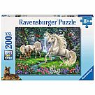 200 Piece Puzzle, Mystical Unicorns
