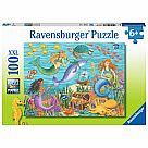 100 Piece Puzzle, Narwhal's Friends