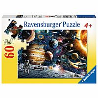 60 Piece Puzzle, Outer Space
