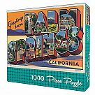 1000 Piece Puzzle, Greetings from Palm Springs