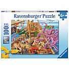 100 Piece Puzzle, Pirate Boat Adventure