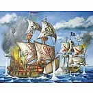 200 Piece Puzzle: Pirate Ship